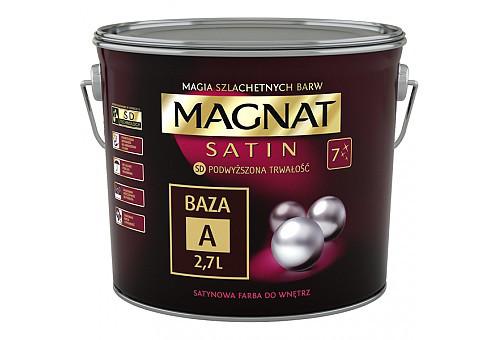 Сатинова фарба інтер'єрна MAGNAT База В  8,6л