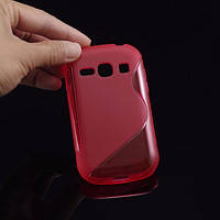 Силиконовый чехол для Samsung Galaxy Fame s6812