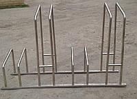 Велопарковка из нержавеющей стали, фото 1