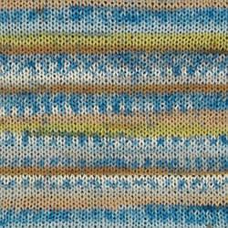DROPS Fabel, цвет 910 Sea Mist Print