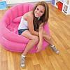 Надувное кресло Intex 68563 Розовое