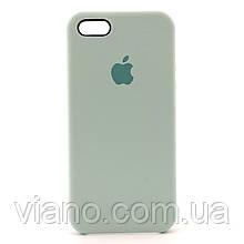 Силиконовый чехол iPhone 5/5S/SE (Бирюзовый) Apple silicone case