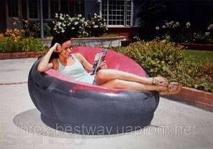 Кресло 112х109х69 см, EMPIRE CHAIR, Intex 68582NP Розовое, фото 2
