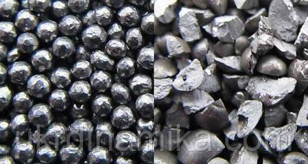Дробь стальная литая ГОСТ 11964-81 диаметр 2.2, фото 2