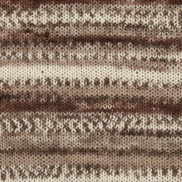 Пряжа DROPS Fabel, цвет 912 Soft Chocolate Print
