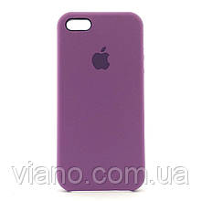 Силиконовый чехол iPhone 5/5S/SE (Фиолетовый) Apple silicone case