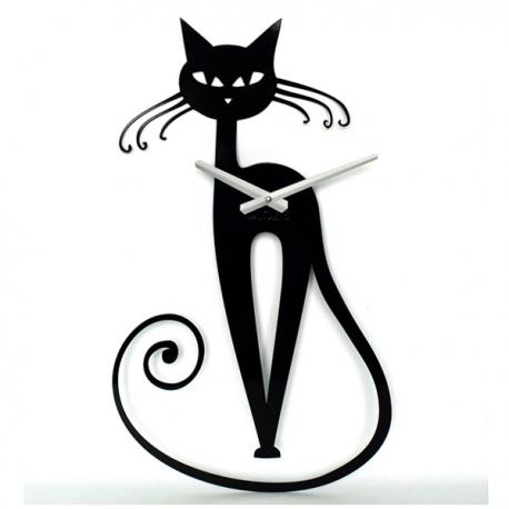 Декоративные настенные часы Elegant Cat. Акция: Бесплатная доставка!