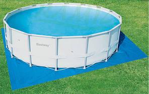 Защитное покрытие под бассейн Bestway 58251, размер 520см х 520см, фото 2