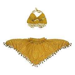 Карнавальный костюм Восточный (желтый)