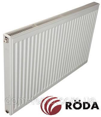 Радиатор стальной Roda Eco 500x800 ➲ 11 Тип ➲ Боковое подключение