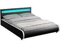Кровать двуспальная с подсветкой 180x200 SEVILLA