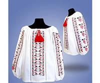 """Красивая вышитая блуза для девочки с мережкою """"Калина"""""""