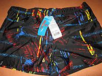 Плавки для купания мужские черные с принтом  р. 46-48 и 50-52