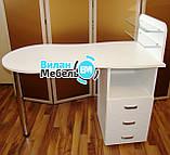 """Маникюрный стол """"Стандарт""""+подставка для педикюрной ванночки, фото 5"""
