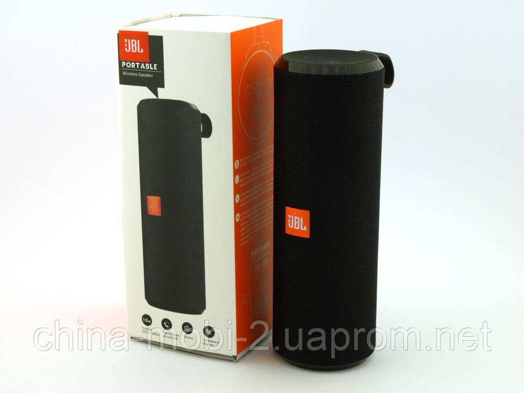 JBL TG126 t&g 10W копия, портативная колонка с Bluetooth FM и MP3, черная