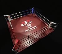 Боксерский ринг напольный тренировочный 4х4 метра, фото 1