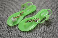 Женские сандалии гладиаторки силикон Lime 36        41