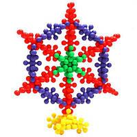 Развивающий детский 3D-пазл Шестилистник 200 шт., фото 1