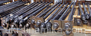 Фундаментный анкерный болт М12х400 ГОСТ 24379.1-2012 09Г2С ТИП 1.1, фото 2