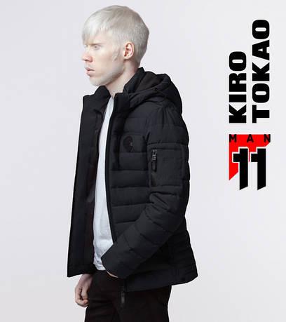 11 Kiro Tokao   Куртка мужская демисезонная 4628 черная