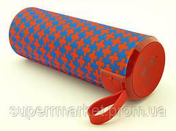 JBL TG126 t&g 10W копия, Bluetooth колонка с FM и MP3, красная с синим, фото 2