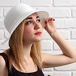 Женская летняя шляпа, капучино, фото 5