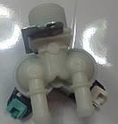 Клапан впускной 2/180 с микро фишкой Whirlpool 481228128468 оригинал, для стиральной машины