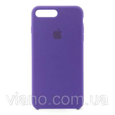 Силиконовый чехол iPhone 7 Plus/8 Plus (Фиолетовый). Apple silicone case