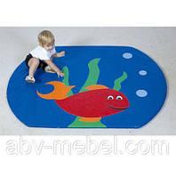 Детский развивающий мат - коврик Рыбка (Тia-sport ТМ)