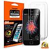Защитное стекло Spigen для iPhone SE/5S/5 (2 шт)