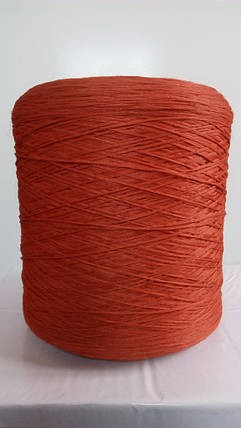 Нитки для коврового оверлока красно-терракотовые, фото 2