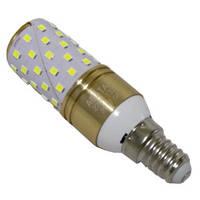 LED лампа (колпачок) 13W E14 желтая