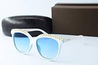 Солнцезащитные очки Valentino белые