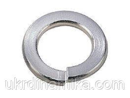 Шайба нержавіюча Ø 16 мм пружинна гровер, нержавіюча сталь А2, А4, DIN 7980, ГОСТ6402-70