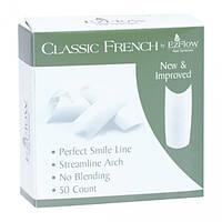 Типсы для наращивания ногтей Ez Classic French Tips #1 Refill, 50 шт