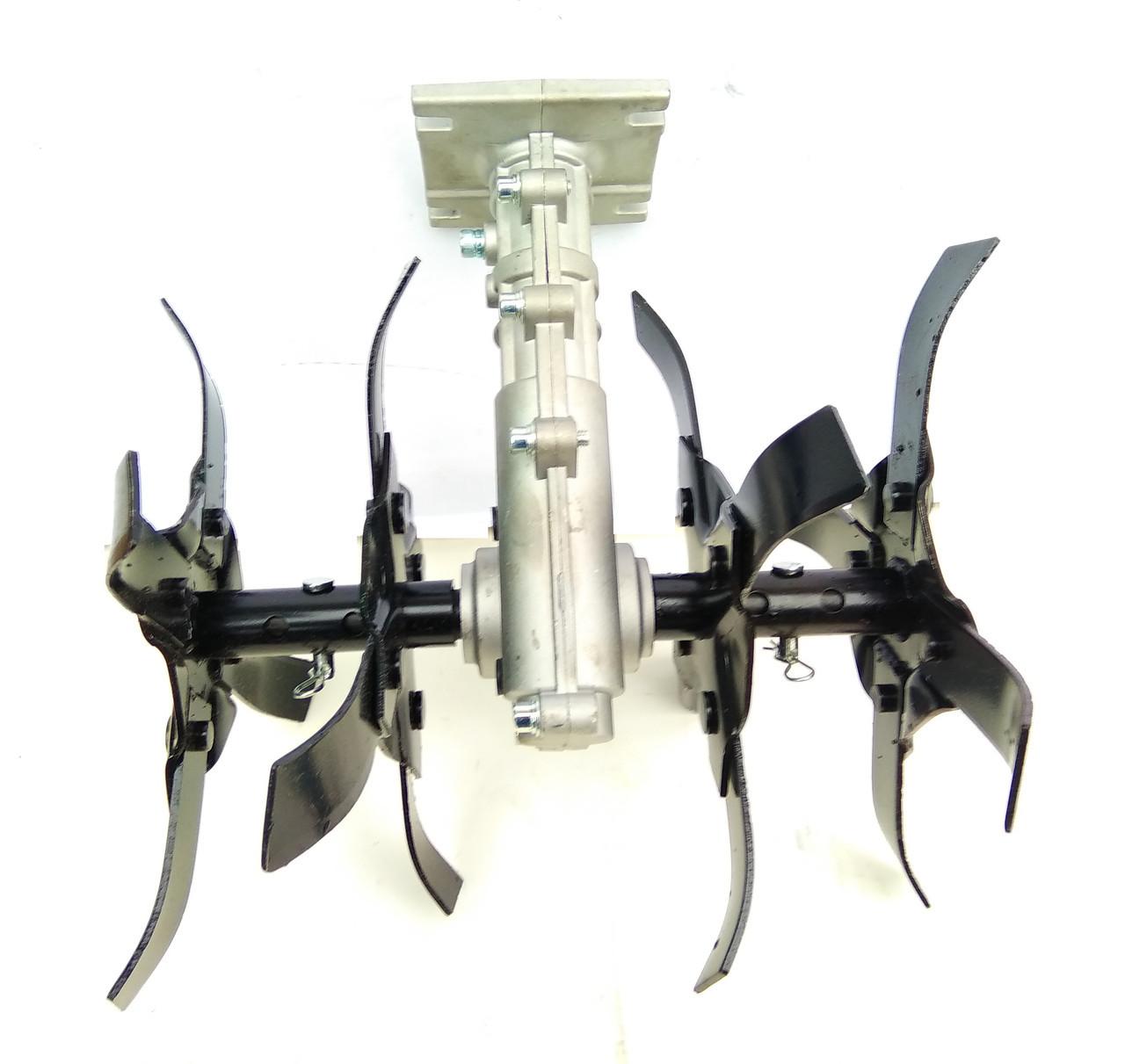 Насадка-культиватор для бензокосы (вал 9 шлицов, штанга 28 мм)