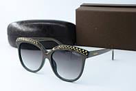 Солнцезащитные очки Valentino зеленые