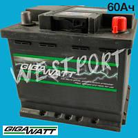 Аккумулятор Gigawatt 60Ач 540А 0185756009