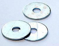 Шайба плоска Ø 12 мм збільшена нержавіюча а2, DIN 9021, ГОСТ6958-78, фото 2