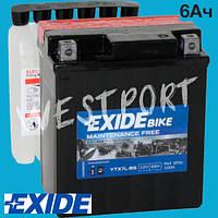 Аккумулятор Exide 6Ач 100А ETX7L-BS