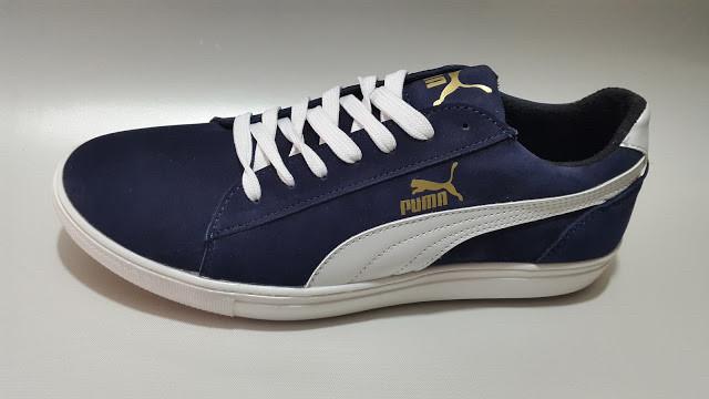 Кроссовки мужские Puma Suede.Темно синие.Замша