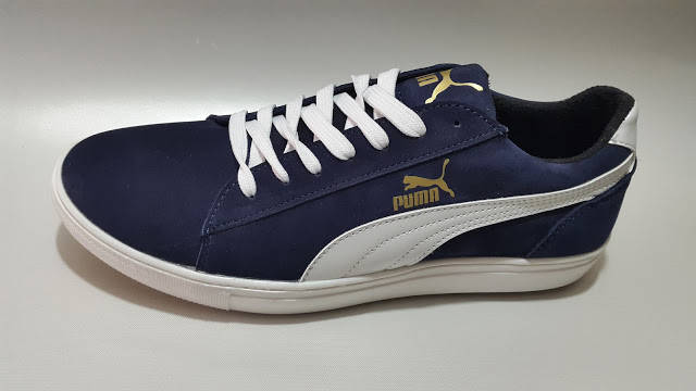 Кроссовки мужские Puma Suede.Темно синие.Замша, фото 2