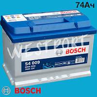 Аккумулятор Bosch Hyundai H-1 Chevrolet CAPTIVA Opel ANTARA Lexus SC Chevrolet CORVETTE 74Ач 680А 0092S40090