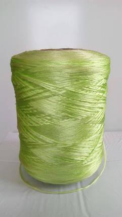 Нитки для коврового оверлока салатовые, фото 2