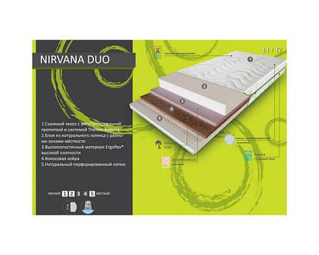 ✅ Ортопедический матрас  Nirvana Duo 70x190 см. Evolution, фото 2