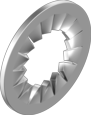 Шайба стопорная М18 DIN6798J, фото 2