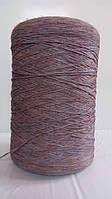 Нитки для оверлока ковров меланж бледно-коричневый