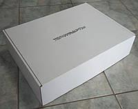 380х280х150 Коробка белая с печатью
