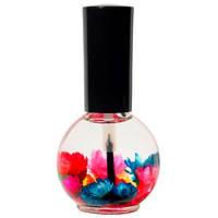 Цветочное масло для кутикулы и ногтей Naomi 15 мл Аромат: Лимон