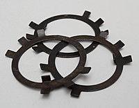 Шайба стопорная многолапчатая М68 ГОСТ 11872-89